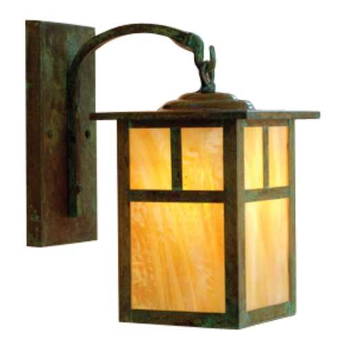 Arroyo Craftsman Lighting 10-3/8-Inch Outdoor Wall Light AR MB-6T-VP-GW (QS)