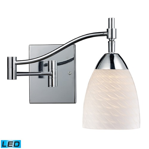Elk Lighting Elk Lighting Celina Polished Chrome LED Swing Arm Lamp 10151/1PC-WS-LED