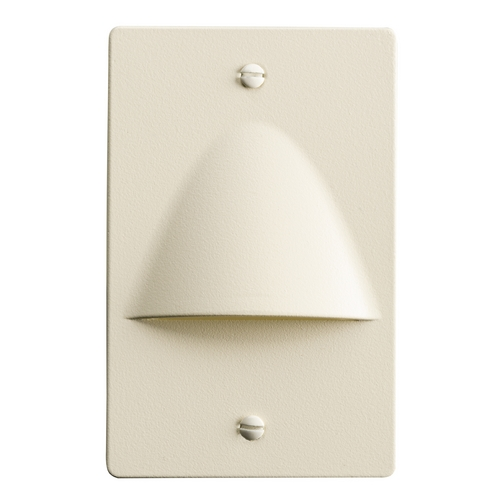 Kichler Lighting Kichler Lighting Step and Hall Light Almond LED Recessed Step Light 12667ALM
