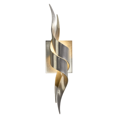 Hubbardton Forge Lighting Hubbardton Forge Lighting Flux Vintage Platinum Sconce 206101-SKT-82