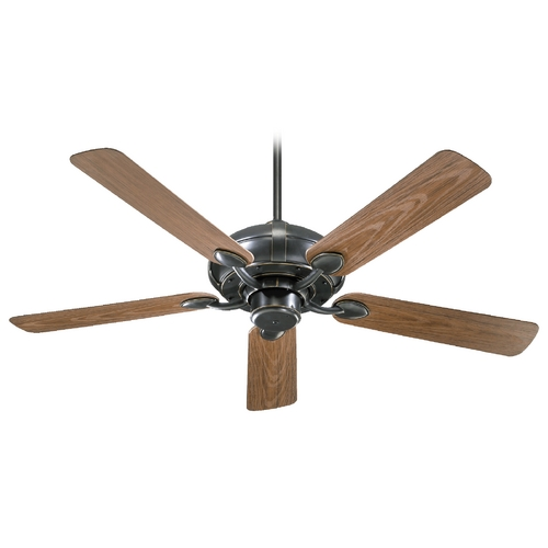 Quorum Lighting Quorum Lighting Adirondacks Patio Old World Ceiling Fan Without Light 138525-95