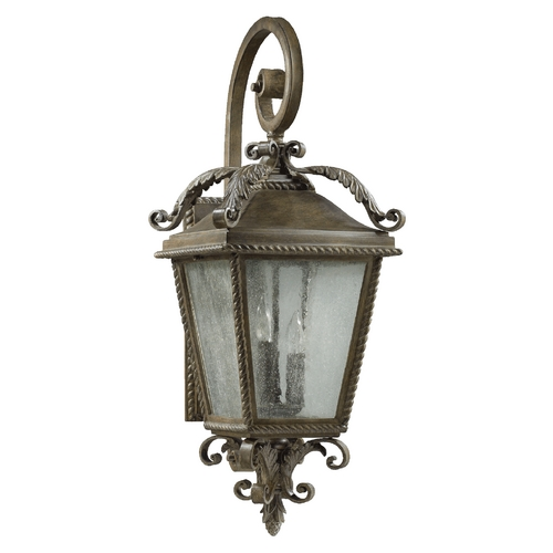 Quorum Lighting Quorum Lighting Rochelle Etruscan Sienna Outdoor Wall Light 7910-3-43