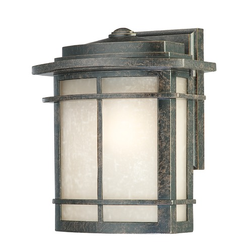Quoizel Lighting Quoizel Galen Imperial Bronze Outdoor Wall Light GLN8409IBFL