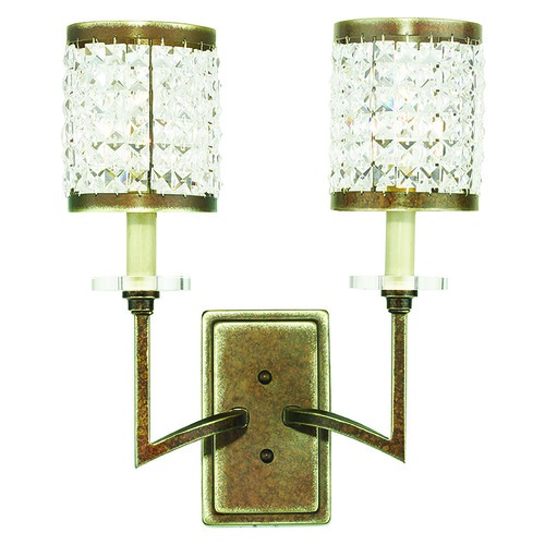 Livex Lighting Livex Lighting Grammercy Hand Painted Palacial Bronze Sconce 50572-64