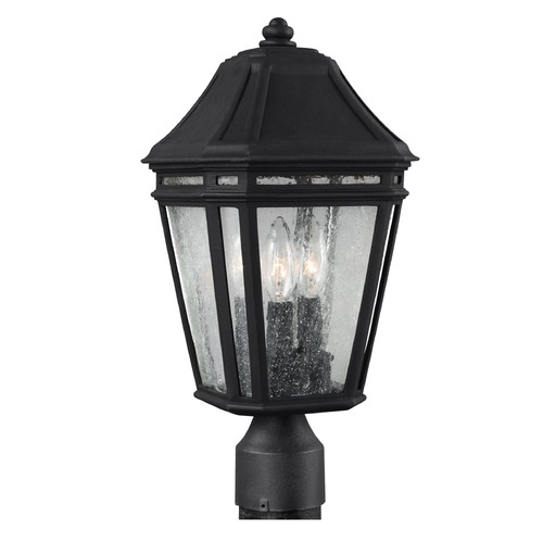Feiss Lighting Feiss Lighting Londontowne Black Post Light OL11307BK