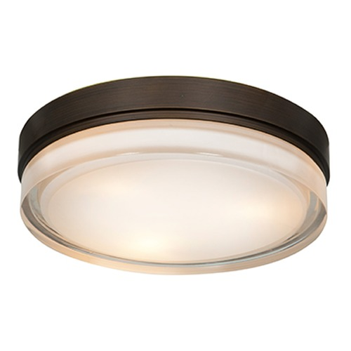 Access Lighting Access Lighting Solid Bronze LED Flushmount Light 20776LEDD-BRZ/OPL