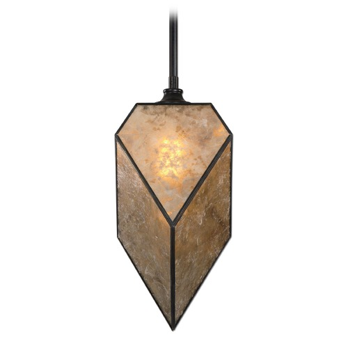 Uttermost Lighting Uttermost Pelham 1 Light Antiqued Mica Mini-Pendant 22063