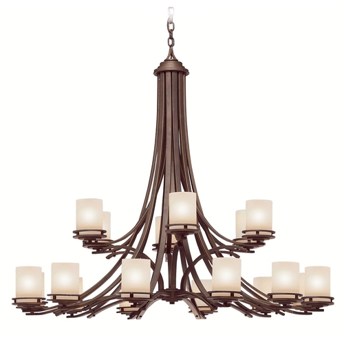 Kichler Lighting Kichler Modern Chandelier in Bronze Finish 1873OZ