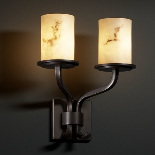 Justice Design Group Justice Design Group Lumenaria Collection Sconce FAL-8782-10-DBRZ