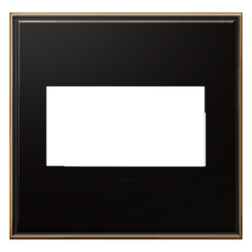 Legrand Adorne Legrand Adorne Oil-Rubbed Bronze 2-Gang Switch Plate AWC2GOB4