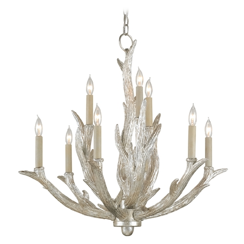 Currey and Company Lighting Currey and Company Lighting Silver Granello Chandelier 9410