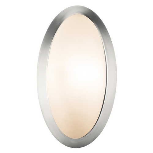 Access Lighting Access Lighting Cobalt Brushed Steel Sconce C20421BSOPLEN1113B