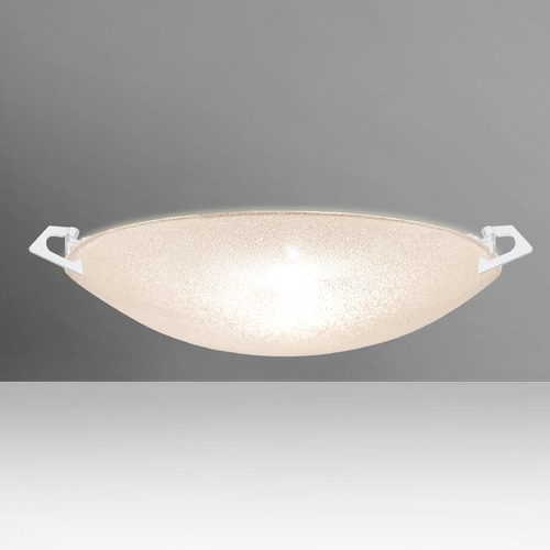 Besa Lighting Besa Lighting Sonya White Flushmount Light 8417GL-WH