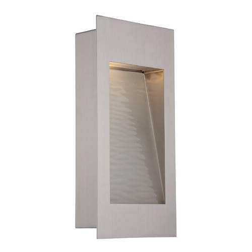 Modern Forms by WAC Lighting Modern Forms Spa Stainless Steel LED Outdoor Wall Light WS-W1212-SS