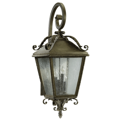 Quorum Lighting Quorum Lighting Rochelle Etruscan Sienna Outdoor Wall Light 7910-4-43