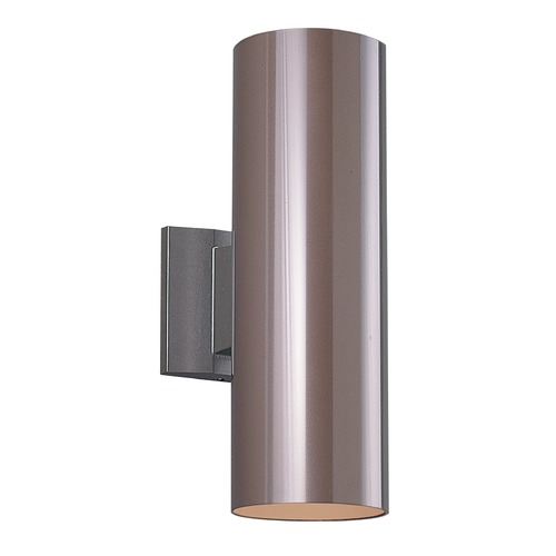 Sea Gull Lighting Sea Gull Lighting Outdoor Bullets Bronze Outdoor Wall Light 8313802-10