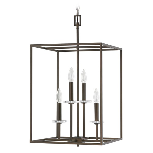 Capital Lighting Capital Lighting Morgan Burnished Bronze Pendant Light 7002BB