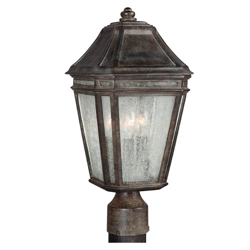 Feiss Lighting Feiss Lighting Londontowne Weathered Chestnut Post Light OL11307WCT