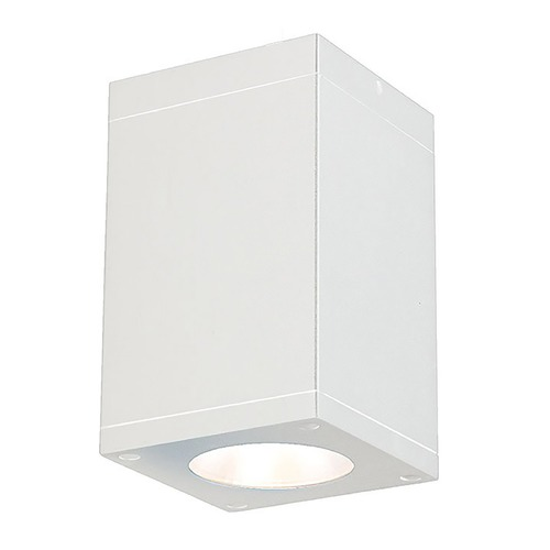 WAC Lighting Wac Lighting Cube Arch White LED Close To Ceiling Light DC-CD05-S927-WT