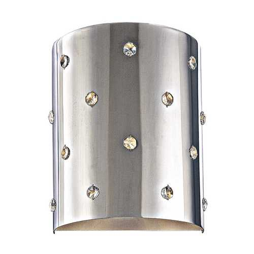 George Kovacs Lighting Modern Sconce Wall Light in Chrome Finish P037-077