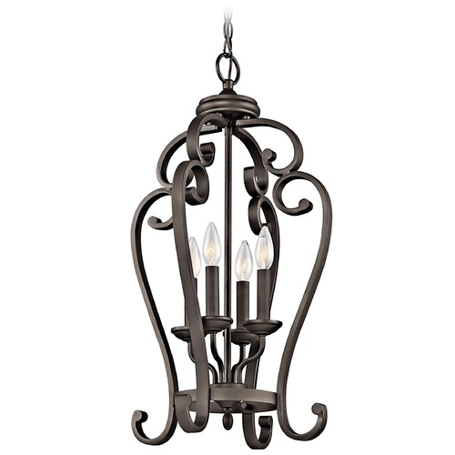 Kichler Lighting Kichler Pendant Light in Olde Bronze Finish 43165OZ