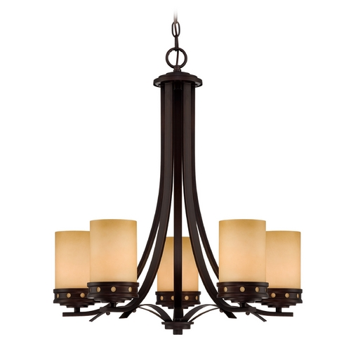 Lite Source Lighting Lite Source Lighting Melita Dark Bronze Chandelier LS-18465