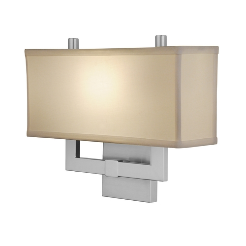 Design Classics Lighting Modern Sconce Wall Light in Satin Nickel Finish DCL 9141-09