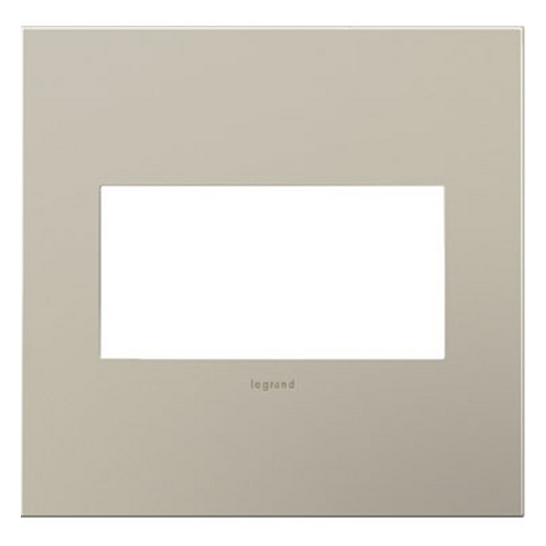 Legrand Adorne Legrand Adorne Satin Nickel 2-Gang Switch Plate AWC2GSN4