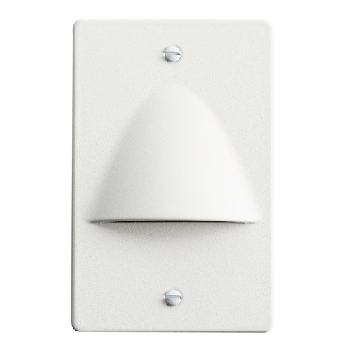 Kichler Lighting Kichler Lighting Step and Hall Light White LED Recessed Step Light 12667WH