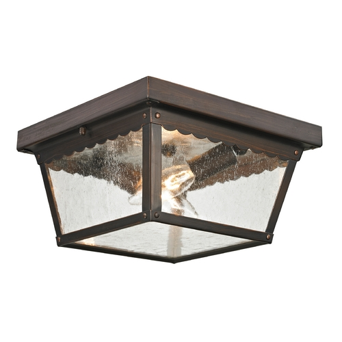 Cornerstone Lighting Cornerstone Lighting Springfield Hazelnut Bronze Close To Ceiling Light 9002EF/70