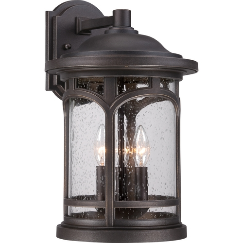 Quoizel Lighting Quoizel Marblehead Palladian Bronze Outdoor Wall Light MBH8411PN