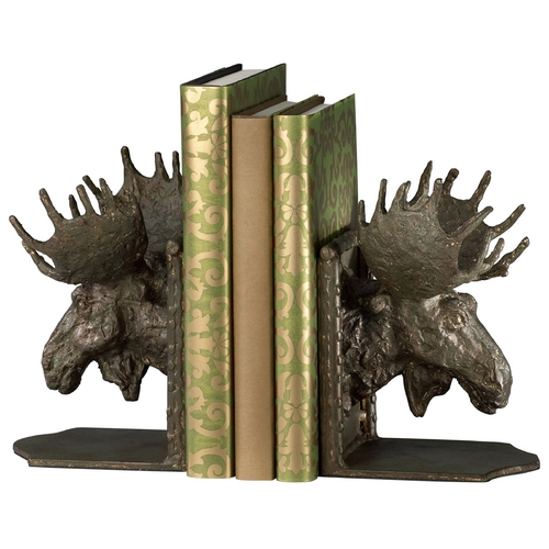 Cyan Design Cyan Design Moosehead Bronze Bookend 03072