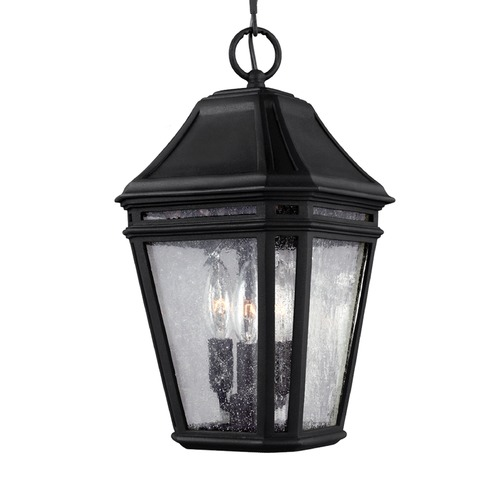 Feiss Lighting Feiss Lighting Londontowne Black Outdoor Hanging Light OL11309BK