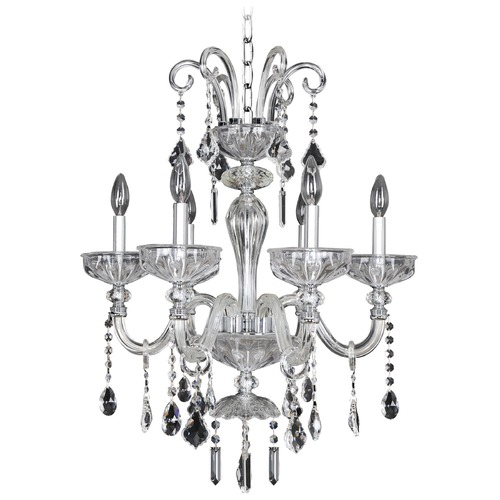 Allegri Lighting Clovio 6 Light Crystal Chandelier 026050-010-FR001