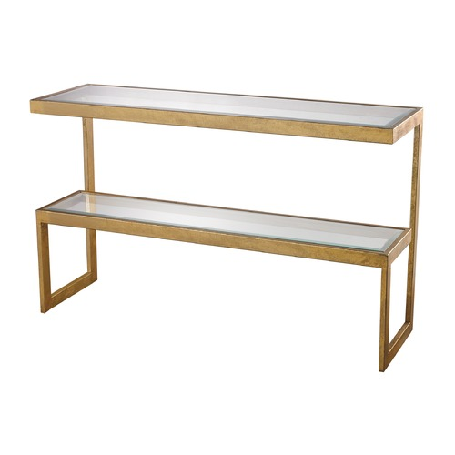 Dimond Lighting Gold Leaf Key Console 114-145