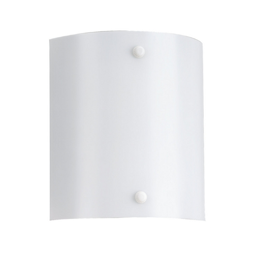 Sea Gull Lighting Modern Sconce Wall Light with White in White Finish 4974BLE-15