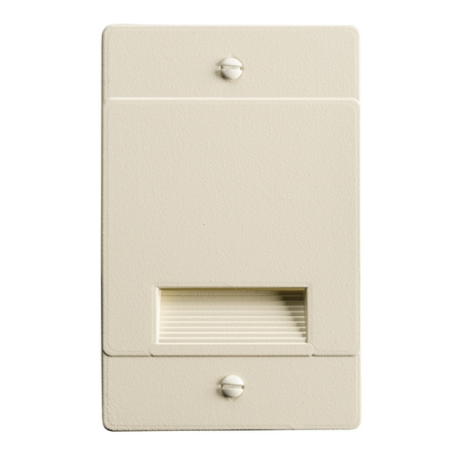 Kichler Lighting Kichler Lighting Step and Hall Light Almond LED Recessed Step Light 12668ALM