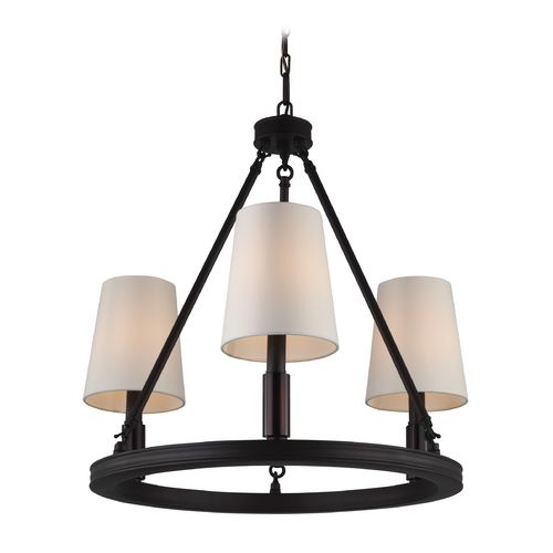 Feiss Lighting Feiss Lighting Lismore Oil Rubbed Bronze Chandelier F2921/3ORB