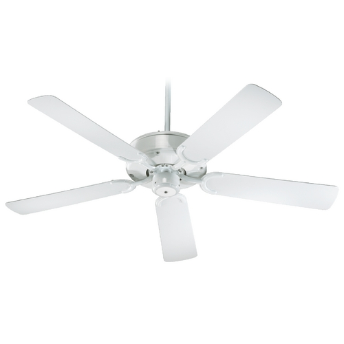 Quorum Lighting Quorum Lighting All-Weather Allure White Ceiling Fan Without Light 146525-6