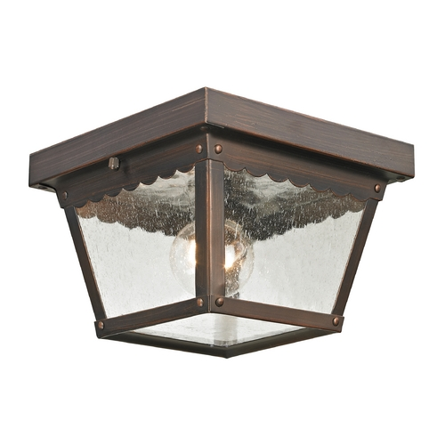 Cornerstone Lighting Cornerstone Lighting Springfield Hazelnut Bronze Close To Ceiling Light 9102EF/70