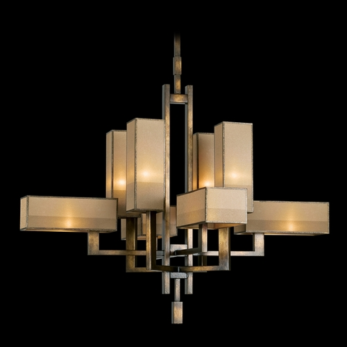 Fine Art Lamps Fine Art Lamps Perspectives Patinated Golden Bronze Chandelier 733840ST