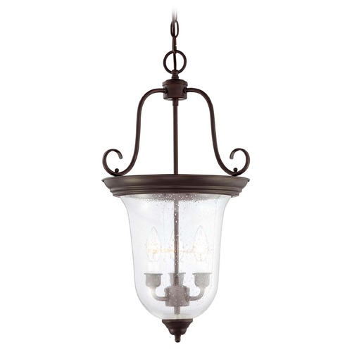 Savoy House Savoy House English Bronze Pendant Light with Bell Shade 3-8521-3-13