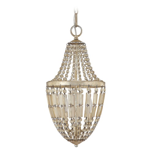 Capital Lighting Capital Lighting Fifth Avenue Winter Gold Mini-Pendant Light 9172WG