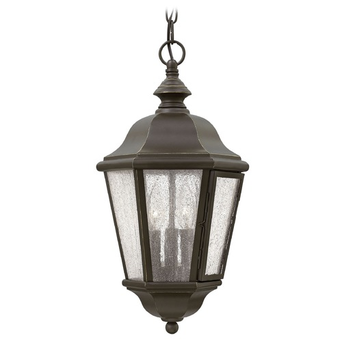 Hinkley Lighting Hinkley Lighting Edgewater Oil Rubbed Bronze Outdoor Hanging Light 1672OZ