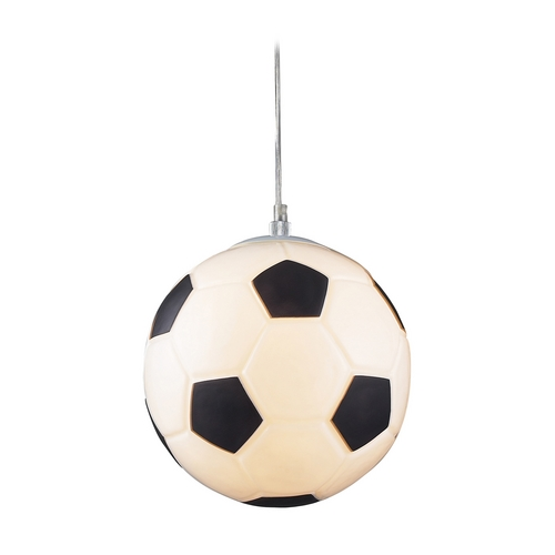 Elk Lighting Soccer Ball Pendant Light 5123/1