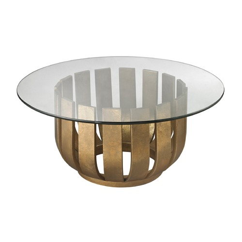 Dimond Home Gold Leaf Olympia Coffee Table 114-147