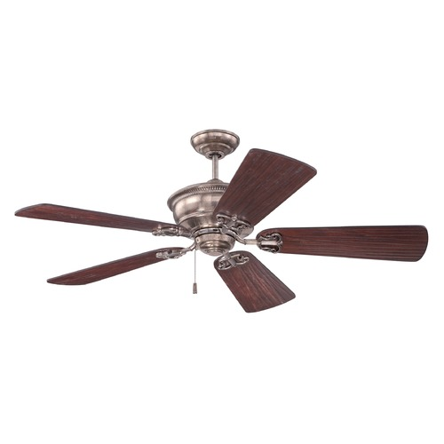 Craftmade Lighting Craftmade Lighting Monaghan Tarnished Silver Ceiling Fan Without Light K11232
