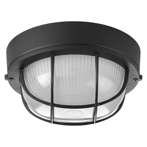 Progress Lighting Progress Lighting Bulkheads Black Close To Ceiling Light P3709-31