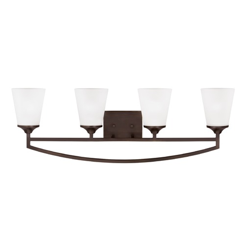 Sea Gull Lighting Sea Gull Lighting Hanford Burnt Sienna LED Bathroom Light 4424504EN3-710
