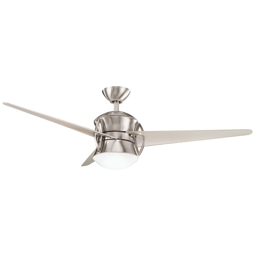 Kichler Lighting Kichler Ceiling Fan with Light Kit in Steel Finish 300125BSS